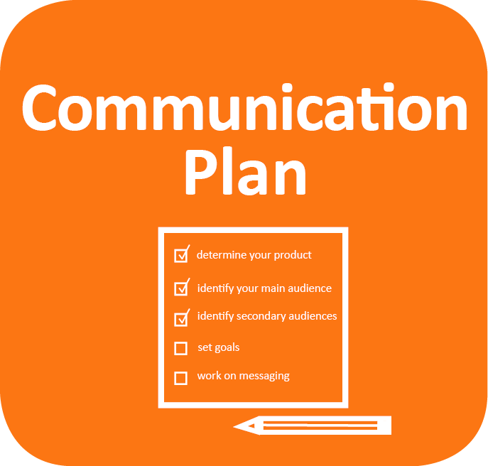 communication plan icon